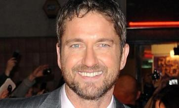Mum's the word for Gerard Butler