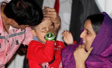 Sahil back with 'overjoyed' family