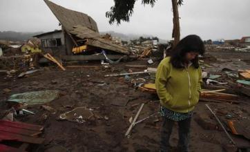 Relief as quake couples phone home