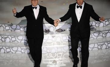 Baldwin, Martin tease Oscar stars