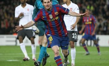Magical Messi destroys Gunners