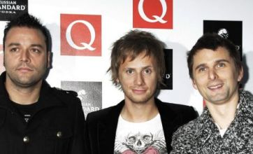 Muse win O2 Silver Clef Award
