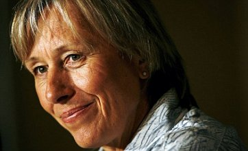 Martina Navratilova has breast cancer but says 'she will make full recovery'