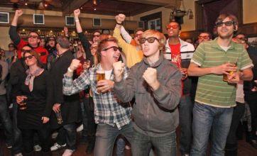 World Cup 2010 3D match list snubs England