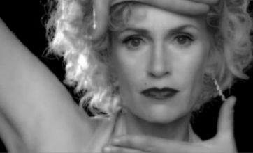 Glee's Sue Sylvester recreates Madonna's Vogue video