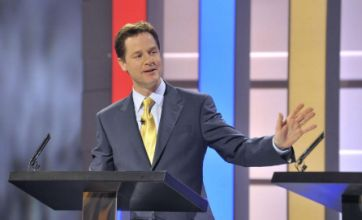 Leaders' TV debate: Round one to Nick Clegg in fight for the TV voters