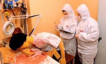 CSI Glamorgan lab teaches forensics for dummies