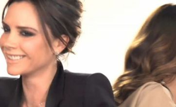 Victoria Beckham finally cracks a smile in new Eva Longoria advert