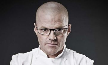 Heston Blumenthal wastes fantastical food on dinner party from hell