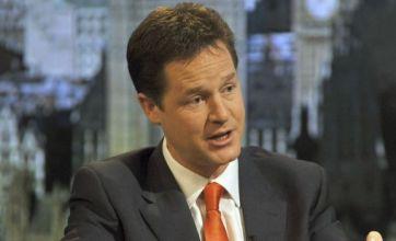 Nick Clegg in Lib Dem hung parliament struggle