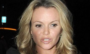What has happened to Amanda Holden's plumped up lips?
