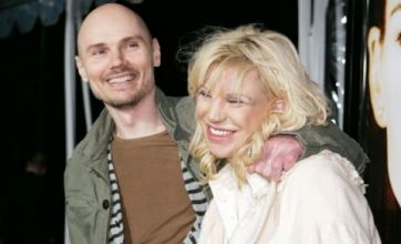 Courtney Love attacked by Billy Corgan for 'stealing'