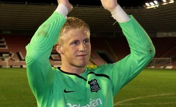 Kasper Schmeichel linked with shock Arsenal transfer this summer