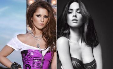 FHM's Cheryl Cole and Megan Fox in Celebrity Face Off
