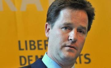 Clegg in pledge over banks targets