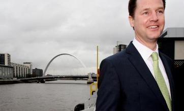 Clegg warns of 'Tory VAT bombshell'