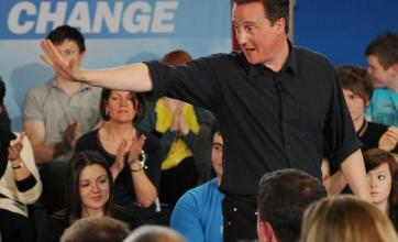 Cameron warns over hung Parliament