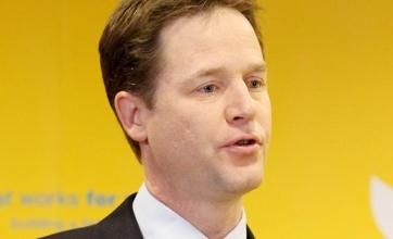Clegg under pressure over payments