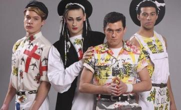 George helps out Culture Club drama