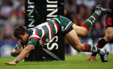 Dan Hipkiss snatches Guinness Premiership title for Leicester Tigers