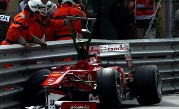 Alonso to miss Monaco qualifying