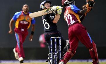England beaten by West Indies in rain-affected World Twenty20 opener