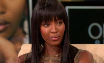 Naomi Campbell breaks down on Oprah as she talks about her temper