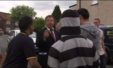 BNP fight in Barking as Bob Bailey and Asian group clash