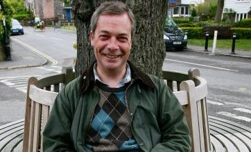 UKIP's Nigel Farage 'luckiest man alive' after surviving plane crash
