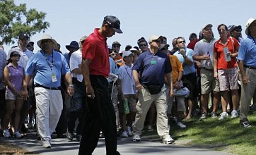 Police Taser drunk fan of Tiger Woods at Players Championship in Sawgrass