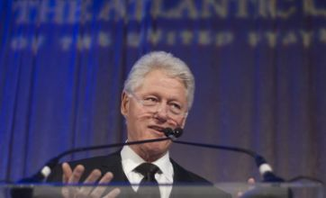 Bill Clinton available as lottery prize to ease Hillary's debts