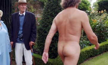 Naked man: 'God told me to be naked'