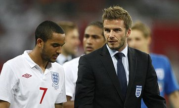 Theo Walcott: David Beckham 'will give England a World Cup boost'