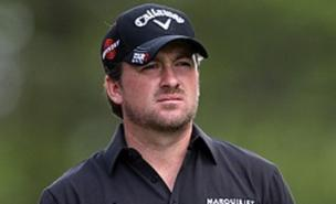 Graeme McDowell leads at Pebble Beach (Allstar)