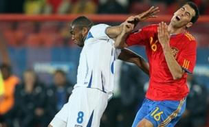 A rare moment of pain for Spain as they outclassed Honduras (Allstar)