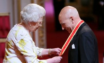 Patrick Stewart is knighted by the Queen after Star Trek success