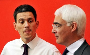 David Miliband backed for Labour leadership by Alistair Darling