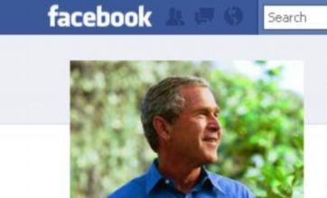 George W Bush is now on Facebook: Do you 'like' this?