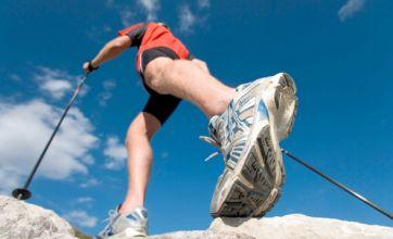 Nordic walking: Taking massive strides