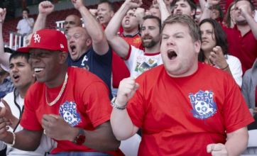 World Cup 2010: Dizzee Rascal and James Corden film Shout music video