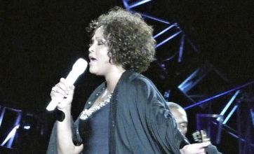 Whitney Houston slammed after audience walks out