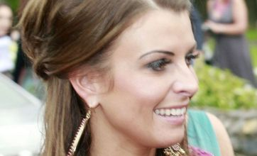 Coleen Rooney attends John O'Shea's stunning wedding without Wayne