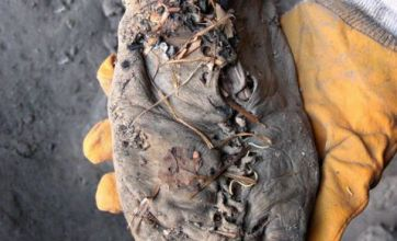 World's oldest shoe discovered – and it's 5,500 years old