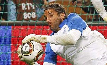 David James to start against Algeria as England axe Robert Green