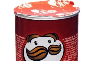 A tube of Pringles: probably doesn't have $20,000 in it