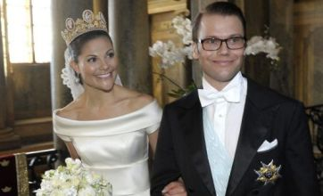 Sweden's fairytale royal wedding takes place in Stockholm
