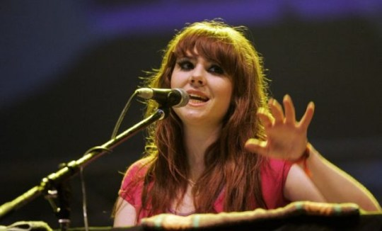 Kate Nash will be belting out a tune