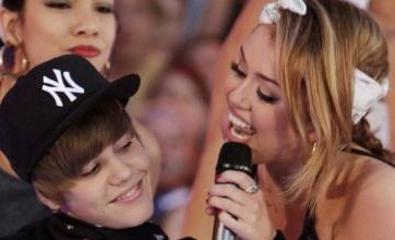Miley Cyrus grinds up next to Justin Bieber at 2010 MuchMusic Video Awards
