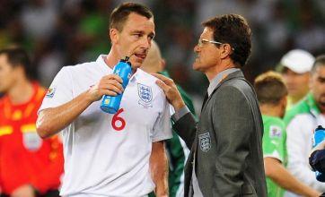 Fabio Capello slams John Terry's 'big mistake' of criticising England