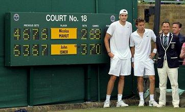 Longest match in history: John Isner beats Nicolas Mahut at Wimbledon